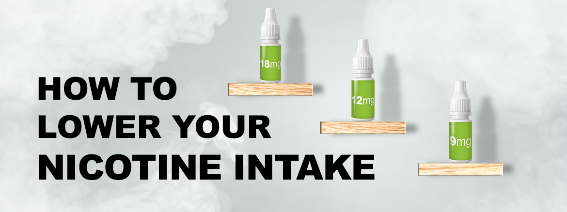how to reduce your nicotine intake and quit smoking using e-cigarettes